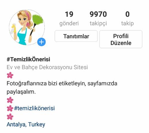 Uygulama üzerinden instagram isim değiştirme