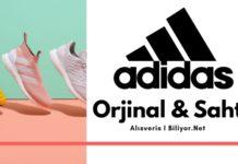 Orjinal adidas ayakkabı esofman forma nasıl anlaşılır
