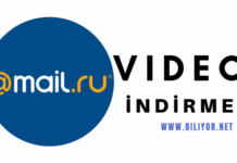 mail.ru video indirme