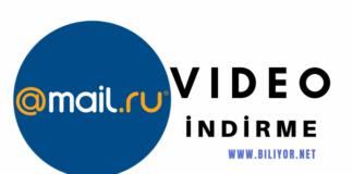 mail.ru video indirme