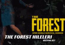 The Forest hileleri - programsız the forest hile kodları