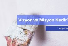 Vizyon nedir? misyon nedir? vizyonumuz ve misyonumuz örnekleri