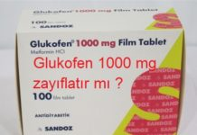 Glukofen 1000 mg zayıflatır mı