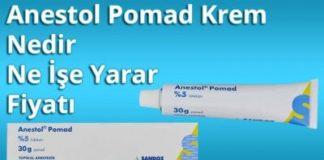Anestol pomad lazer öncesi nasıl kullanılır